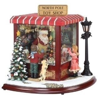 Amusements LED Lighted Animated & Musical North Pole Toy