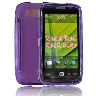 mobile palace  Purple gel case cover pouch holster for