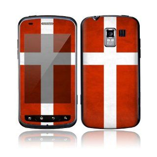 Flag of Denmark Decorative Skin Cover Decal Sticker for LG