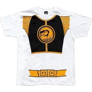 Power Rangers   White Ranger Costume T Shirt   2X Large
