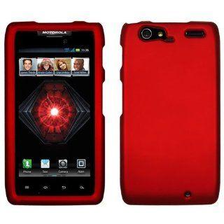 New Honey Dark Red Rubberized skin Phone Cover Case Guard