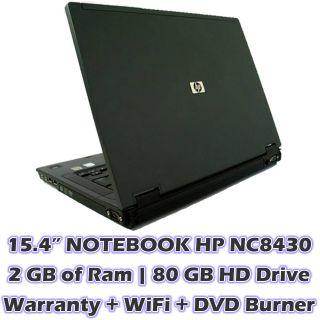 HP Compaq Windows with Warranty Laptop Notebook Computer WiFi 2 GB Ram