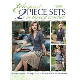 Elegant Two Piece Sets In Thread Crochet