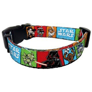Star Wars Cartoon Style Multi Color Squares Darth Vader