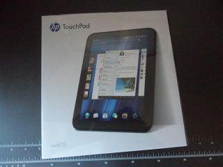 NEW SEALED HP TouchPad FB359UA 9.7inch 1.2GHZ 32GB WiFi BLACK 32G NIB