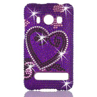 HTC EVO 4G Full Diamond Bling Phone Case Shell by Talon