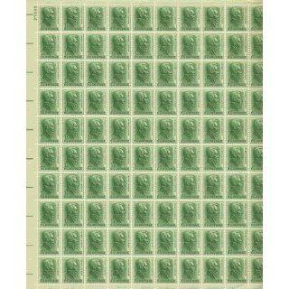 Andrew Jackson Full Sheet of 100 X 1 Cent Us Postage