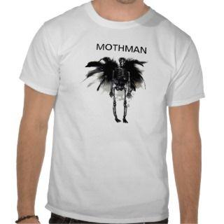 Mothman T shirts, Shirts and Custom Mothman Clothing