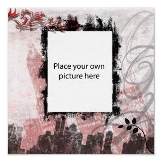 ponga su propia imagen en este fondo urbano de la ciudad para poner