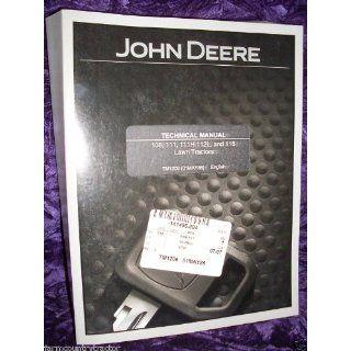 John Deere 108/111/11H/112L OEM Service Manual John Deere