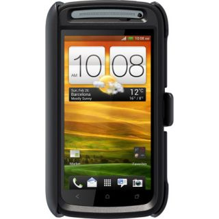 100% AUTHENTIC Otterbox Defender HTC One S Black Color Retail packing