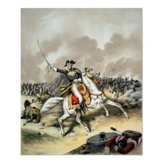 Andrew Jackson At The Battle Of New Orleans Posters
