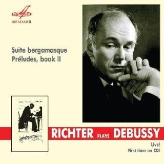Richter plays Debussy Suite bergamasque / Preludes, book