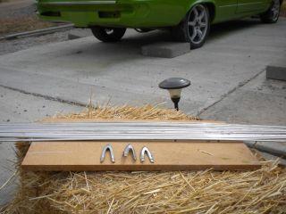 1964 Dodge Dart Moulding Side Trim w Spears 15 Pieces