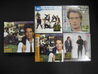 Huey Lewis News 4 CD Sports Promo Box Japan Mini LP SS doobie brothers
