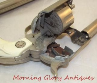 Vintage Pair Large Hubley Cowboy Cap Guns