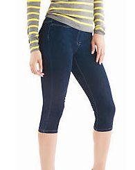 Hue Style 12246 City Jeans Capri Leggings