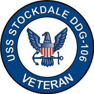 US Navy USS Stockdale DDG 106 Ship Veteran Decal Sticker 5.5
