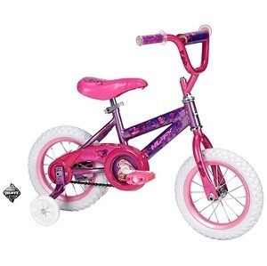 Huffy Sea Star 12 Girls Bike Purple Little Princess Training Wheel