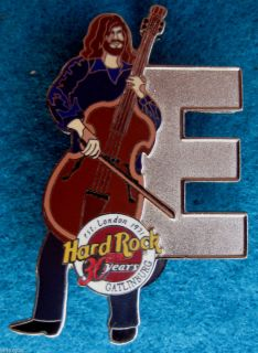 Gatlinburg Hugh McDowell ELO Letter E Musician Series Hard Rock Cafe