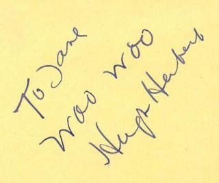 Hugh Herbert Vintage 1930s Original Signed Album Page Autographed