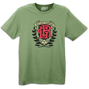 LRG Herron Crest S/S T Shirt   Mens   Skate   Clothing   Olive