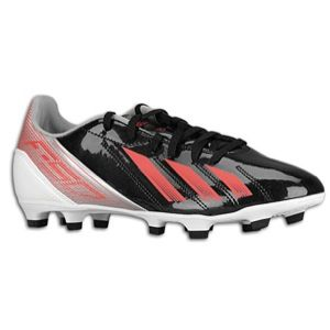 adidas F10 TRX FG Synthetic   Womens   Black/Red Zest/Metallic Silver