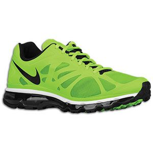 Nike Air Max + 2012   Mens   Running   Shoes   Electric Green/White