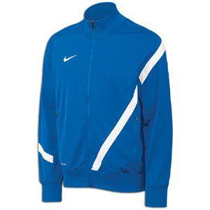 Nike Comp 12 US Poly Jacket   Mens   Soccer   Clothing   Royal/White