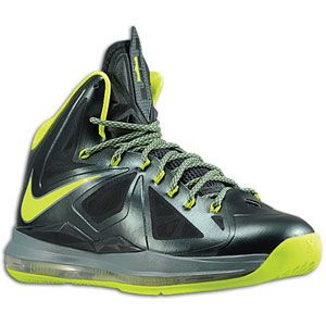 Nike Lebron X   Mens   Basketball   Shoes   Seaweed/Atomic Green
