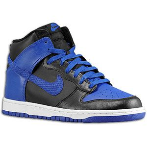 Nike Dunk High   Mens   Basketball   Shoes   Black/Old Royal/White