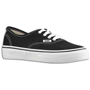 Vans Authentic   Boys Preschool   Skate   Shoes   Black/White