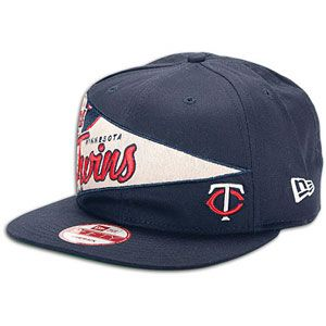 New Era MLB Pennant Snapback   Mens   Baseball   Fan Gear   Twins