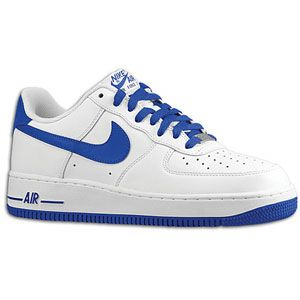 Nike Air Force 1 Low   Mens   Basketball   Shoes   White/Old Royal