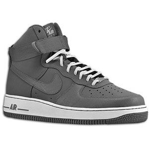 Nike Air Force 1 High   Mens   Basketball   Shoes   Dark Grey/Dark