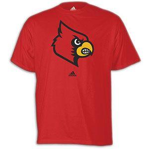 adidas College Logo T Shirt   Mens   Basketball   Fan Gear