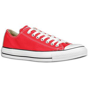 Converse All Star Ox   Mens   Basketball   Shoes   Bright Red/White