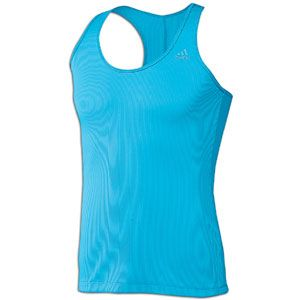 The adidas Perfect Rib Tank keeps you from getting weighed down on