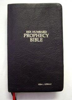 Holy Bible Rex Humbard Prophecy Bible Edition King James Version