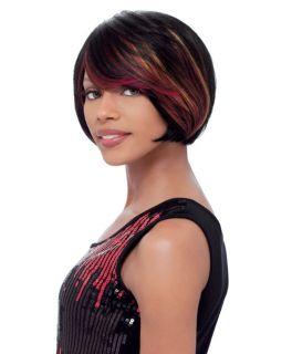 Sensationnel Pre Bumped 100 Human Hair Wig Vogue Crop