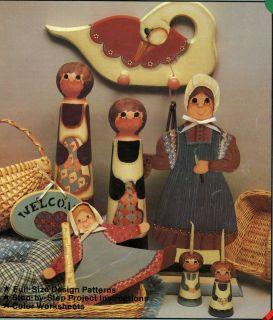 Humble Homestead Tole Painting Pattern Book Glenda Dunham Plaid