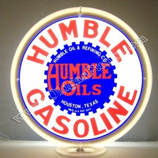 Humble Gasoline Oil Gas Pump Globe Free G 141