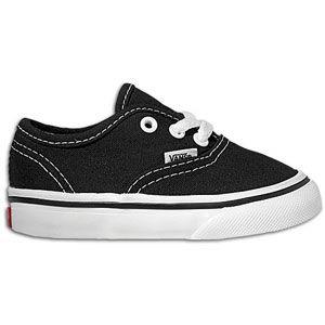 Vans Authentic   Boys Toddler   Skate   Shoes   Black