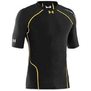 Under Armour Heatgear Stretch Woven Compression S/S   Mens   Training