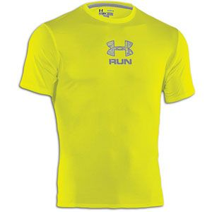 Under Armour Tough Run T Shirt   Mens   Running   Clothing   High Vis