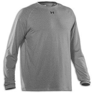 Under Armour Locker Longsleeve T Shirt   Mens   True Gray Heather