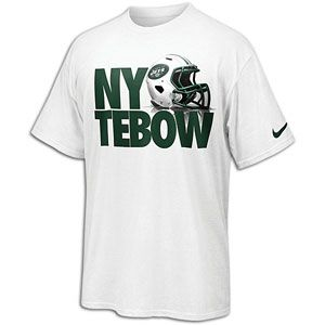 Nike New York Tebow T Shirt   Mens   Football   Fan Gear   Jets   Tim
