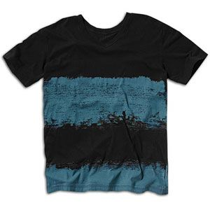 Quiksilver Mr. Big Printed S/S V Neck Knit   Mens   Casual   Clothing