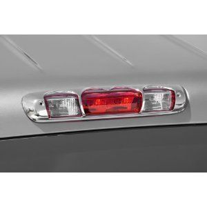 Chrome Third Brake Light Cover / FITS CHEVROLET GMC TRUCK & HUMMER H3T