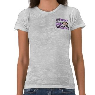 Fight Like A Girl Lupus 20.2 Tshirt